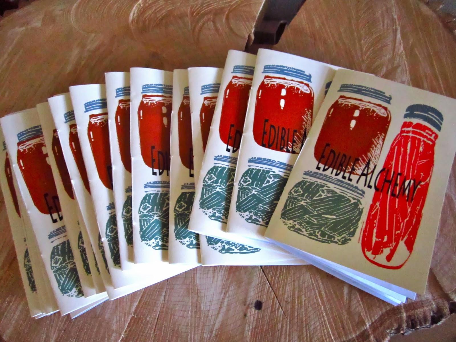 edible alchemy fanzine