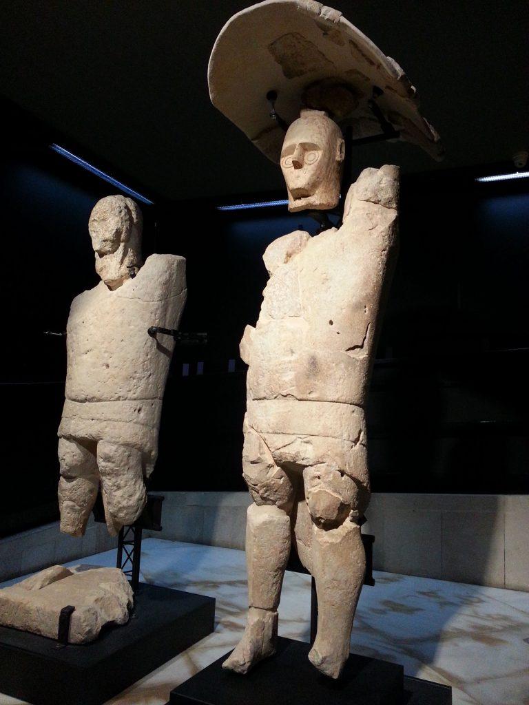 I Giganti di Mont'e Prama sono tra le più antiche statue antropomorfe del Mediterraneo